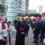 #Barcellona. L'arcivescovo Accolla accolto da una folla festante