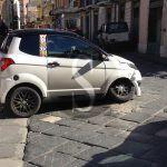 #Barcellona. Incidente a piazza San Sebastiano tra una minicar e una Jeep