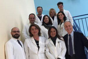 Lo staff del Centro NEMO di Messina