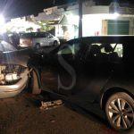 #Furnari. Schianto nella notte tra due auto, un ferito