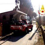 #Barcellona. Incendio in via Stretto Pezzanave, i Vigili del Fuoco salvano due anziani