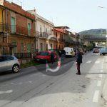 #Falcone. Scontro violento tra due auto, due feriti