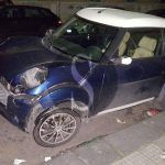 #Messina. Incidente tra una minicar e un'Alfa Romeo in via Giacomo Venezian