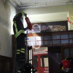 #Messina. Principio di incendio in via Centonze, intervento dei Vigili del Fuoco