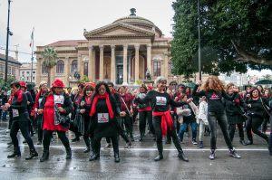 L'edizione 2016 di One Billion Rising a Palermo