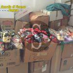 #Ragusa. Maxi sequestro da 300.000 euro di prodotti di Carnevale illegali