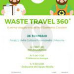 #Messina. Parte Waste Travel 360°: conferenza stampa al Palacultura