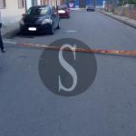 #Barcellona. Crolla un palo dell'illuminazione in strada e danneggia un'auto in sosta