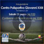 #Messina. Inaugurazione del centro polisportivo Giovanni XXIII