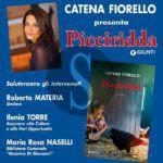 """#Barcellona. Al parco maggiore La Rosa si presenta il libro di Catena Fiorello """"Picciridda"""""""