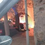 #Barcellona. Cassonetto in fiamme in via San Giovanni