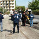 #GiardiniNaxos. G7 Taormina, ispezione antimafia in un cantiere