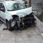 #Barcellona. Incidente tra due auto in via Ugo Sant'Onofrio, un ferito