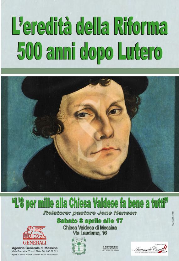 """#Messina. Domani l'incontro """"L'8 per mille alla Chiesa Valdese fa bene a tutti"""""""