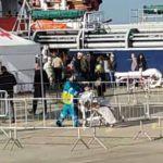 #Messina. Sbarcati in città 1.267 migranti, tra loro anche minori e donne incinte