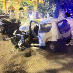 #Messina. Fugge all'alt dei Carabinieri e si schianta sull'auto della Polizia