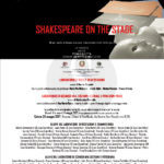 #Trapani. Ente Luglio Musicale Trapanese: in scena con Shakespeare on the Stage