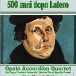 #Messina. Anniversario Riforma, Opale Accordion Quartet in concerto alla Chiesa Valdese