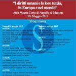 """#Messina. Nell'Aula Magna della Corte D'Appello il convegno """"I Diritti Umani e la loro tutela in Europa e nel mondo"""""""