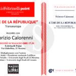 """#Cultura. Alla Feltrinelli di Messina """"L'Âme de la République"""" di Fabrizio Calorenni"""