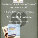 """#Taormina. Al via il nuovo cartellone di Spazio al Sud con il """"Caffè Letterario in … Terrazza"""""""