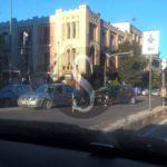 #Messina. Violento tamponamento tra due auto in viale Boccetta