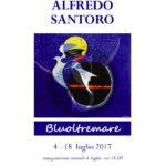 #Pittura. Bluoltremare, alla Galleria Lucio Barbera la mostra di Alfredo Santoro