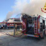 #Cronaca. Incendio sul Masaccio, i Vigili del Fuoco al lavoro per domare le fiamme