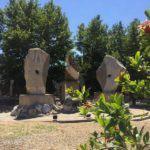 #Barcellona.  Alla villa Primo Levi inaugurata la scultura di Mariano Pietrini