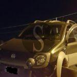 #Milazzo. Fiat Panda si schianta contro un muro all'uscita del porto, due feriti