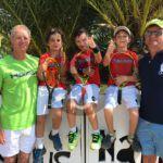 #Messina. I tennisti del Circoletto dei Laghi vincitori del torneo Macro-area sud di Pizzo Calabro