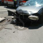 #Cronaca. Violento incidente a Barcellona tra un Suv e una Croma, 4 feriti