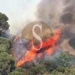#Cronaca. Fuoco sulle colline di Messina, bloccati 3 ragazzini