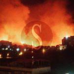 #Cronaca. La città brucia, la lunga notte di Messina contro il fuoco