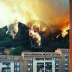 #Cronaca. Fuoco ovunque, chiusi i supermercati della zona nord di Messina e incidente con feriti sulla A18