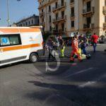 #Cronaca. Auto travolge scooter in via Tommaso Cannizzaro, un ferito