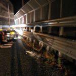 #Cronaca. Incidente nella notte sulla tangenziale, ingenti danni a un TIR