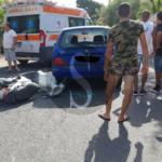 #Cronaca. Incidente tra auto e scooter a Terme Vigliatore, traffico in tilt