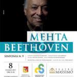 #Musica. Mehta – Beethoven: concerto trasmesso a Piazza Verdi a Palermo