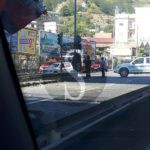 #Cronaca. Crollo di calcinacci dal ponte autostradale di Messina centro, intervento dei Vigili del Fuoco