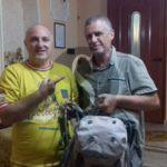 #Avventura. Uomo di 51 anni arriva in Sicilia dopo aver attraversato l'Italia a piedi