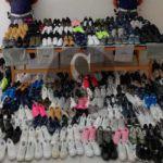 #Cronaca. La Polizia di Barcellona Pozzo di Gotto sequestra centinaia di scarpe contraffatte, 3 denunce