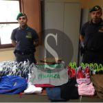 #Cronaca. Operazione delle Fiamme Gialle di Caltanissetta, scoperti e sequestrati articoli contraffatti