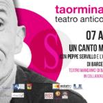 """#Spettacolo. Al Teatro Antico di Taormina """"Un canto mediterraneo"""" con Peppe Servillo"""