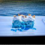 Enogastronomia. Chef Caliri sommerge tutti con il dessert Waves alla Festa della Marineria