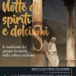 """Cultura. A Santa Lucia del Mela la """"Notte di spiriti e dolciumi"""" per celebrare Ognissanti"""