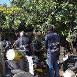 Cronaca. Sequestrata a Modica maxi discarica abusiva con 100 tonnellate di rifiuti pericolosi