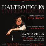"""Teatro. Nino Romeo in scena con """"L'altro figlio"""" a Biancavilla"""