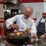 Enogastronomia. Uova e lollipop di cassata dello chef Caliri al Messina Street Food