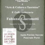 """Cultura. A Taormina il libro """"La moda è un mestiere da duri"""" di Fabiana Giacomotti"""